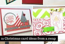 Christmas Card Ideas / Fun ideas for handmade Christmas Cards