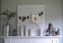 On the mantle / by AnnE Fredrick