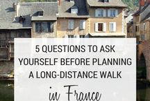 Practical tips for long-distance walkers / Practical tips for long-distance walkers - what to expect, how to plan an itinerary, where to stay, how to avoid blisters...