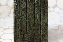 Доски и мох