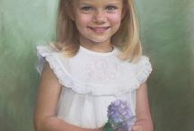 cute oil painting