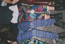 grunge retro style
