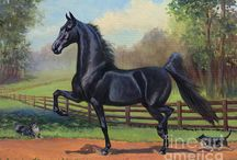 Horses In Art- American Saddlebred 2 (Other)