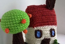 amigurumi houses/ fairy hosues(corchet) / by Aura Lipinski