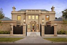 Архитектура домов классика