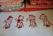 cross stitch monocolore