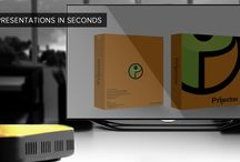 Prijector - Wireless Presentation Device / Prijector is a slick and powerful device that directly connects to your Television or to any Projector. It enables one to share their full-screen and present wirelessly from Windows, Linux, Mac and iOS Devices