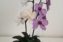 amigurumi çiçek