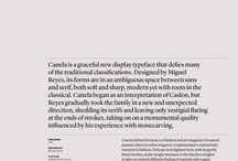 Favourite fonts and new aquitances