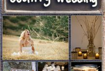 Farm Wedding / Ideas for weddings taking place at a farm, in a field, or other wide open rural setting. (Thoughts and examples of logistics, types of decorations, how to get enough lighting, etc.)