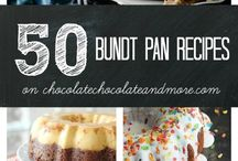 bundt cakes / by Vivian Falconary