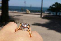 Engagement ring / Engagement ring #seaside