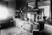 old kitchens era late 1800 s to 1970