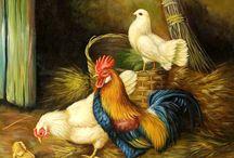 Vintage Roosters I love