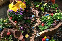 Fairy Gardens / Great, inspiring fairy gardens