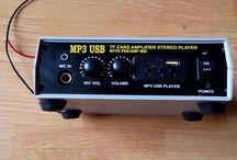 Rakitan AMPLIFIER USB MP3 PLAYER STEREO DC12V Tanpa FM