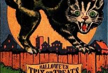 Vintage Halloween Cards and Ephemera / by Alice Fazooli