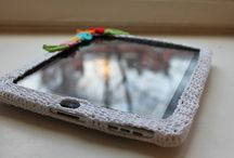 Horgolt kütyü tartók/ Crochet gadget holders
