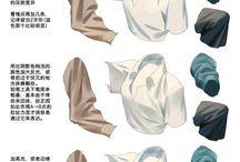Одежда ( как рисовать)