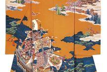 Japanese clothes, art , building etc