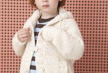 chaquetas de lana para niños y bebes