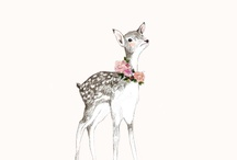 Deer Ilustration / by Monse Rodriguez