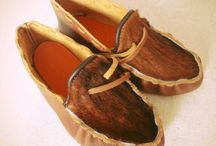Historical Shoes / Historical leatherworks from Russia
