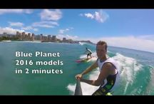 2016 Blue Planet SUP boards / The 2016 lineup of Blue Planet Stand Up Paddleboards