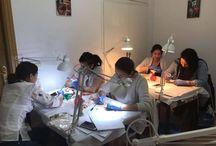 Curso Micropigmentacion y Microblading / Descubre las fotografias de los últimos cursos de micropigmentacion y microblading realizados en la Escuela Del Tatuaje