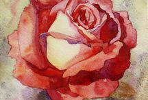 Акварель - Цветы