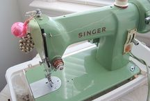 Vintage Sewing Machines / Lots of prettiness / by thingsforboys