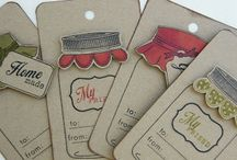 Jar tags and cards / by Debi Pursley