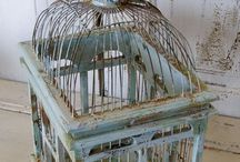 Birds - Cages, Houses, Nests