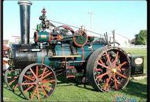 Canadian & US Road Steam Engines / European Road steam engines especially cable ploughing engines.