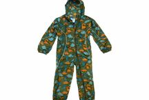 Children's Waterproof All-in-Ones / Waterproof and windproof all-in-one suits and overalls for kids.
