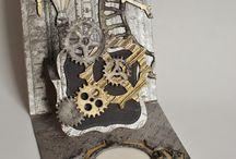 steampunk projecten en kaart ideeen