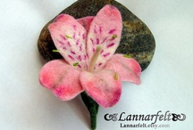 felted broches