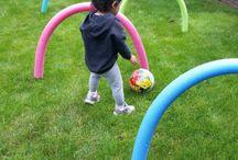 Kids indoor and outdoor activities