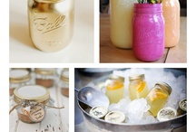 DIYs Jars / I love jars! This is a bunch of things you can do with plain, old, boring jars. You can even use used candle jars! How exciting is that?