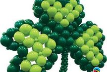 St. Patrick's Day Balloon Ideas / Balloon decor ideas for your St. Pat's Day Events
