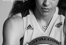 Basketball players women