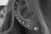Fun Ear Piercings  / by Anne Jensen