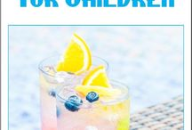 Mocktails for Kids / These mocktails for kids aren't just for kids.  From sparkling drinks to creamy beverages, these refreshments mimic their alcohol-infused counterparts, but are safe for most children and pregnant women!  You can find all of our mocktails for kids here:  http://3boysandadog.com/mocktails-for-kids/