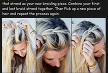 Hair Styles / #hair #styles #hairstyles #rosegold #blonde #how to #bun #braid #brown #brunette #purple #extreme #blue #white #gray #short #long #wavy #curly #straight