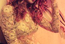 Darya Lebedeva - Дарья Лебедева / Darya Lebedeva, Moscow, Red, Hair, Model