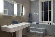 Incredible Vinyl Bathrooms / You won't believe these rooms have vinyl flooring!