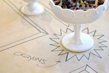 Kids table // Kindertisch