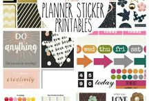 bullet journal free printebels
