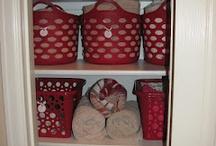 Linen Closet Org