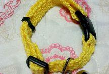 猫の首輪 / 可愛い首輪を愛猫に付けたくて〜♥